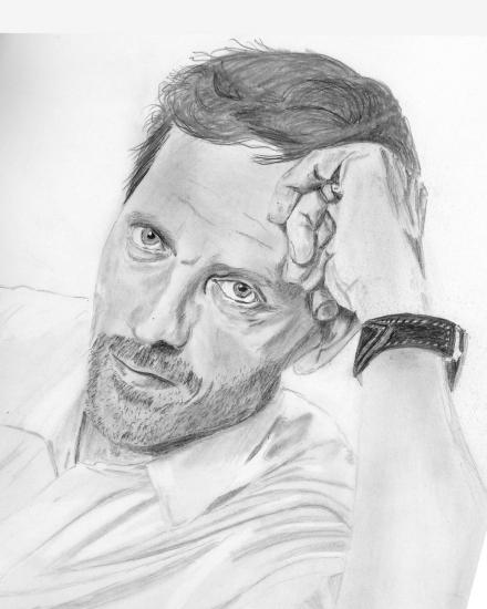 Hugh Laurie par 11mk11